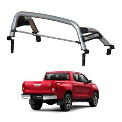 BARRA EXTREME PLUS INOXIDABLE/ STEEL TIGUER/ HILUX/ 2012-2020