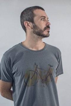 Camiseta Bike cinza