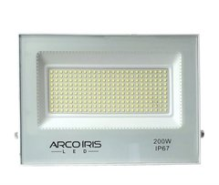 Refletor Microled Smd 200w Flood Light Bivolt Ip67 Cor Branca 83037 AI - FIK/I ACI83037