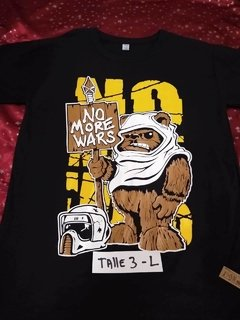 Remera No More Wars Chewbacca - RxD