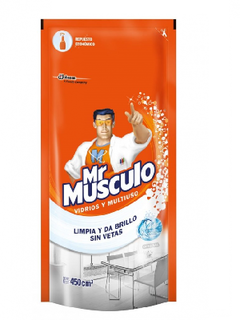 Mr Músculo Vidrio Repuesto 500 Ml