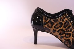 Ankle Boot Jorge Bischoff Animal Print Verniz na internet