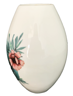 Vaso Oval Floral Tropical na internet