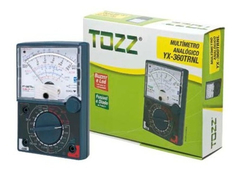 Multimetro Analógico Tozz Yx-360 Trnl C/ Led e Buzzer