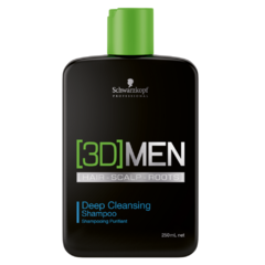 3D Men Deep Cleansing Shampoo