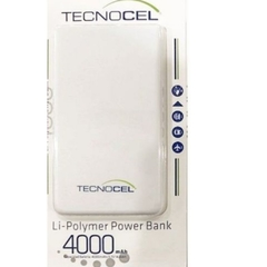 POWERBANK 4000mAh TECNOCEL