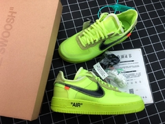 "Nike Air Force 1 Low x Off White ""Volt"" - HyzeShop"