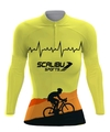 CAMISA MANGA LONGA BIKE FEMININA SCALIBU SPORTS