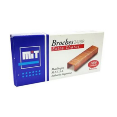 Mit Broches Extra Chatos  24/8R Reforzados 1000 PCS