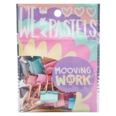 Mooving MAW Binders Clips Pastel