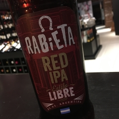 Cerveza Rabieta Red Ipa botella 710 ml