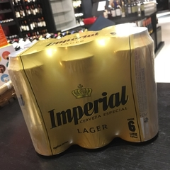 Cerveza Imperial Lager Pack x6 473cm3