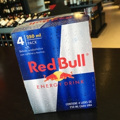 "Red Bull ""Energy Drink"" 250ml Pack x4 Latas"