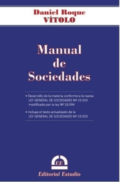 VITOLO - MANUAL DE SOCIEDADES