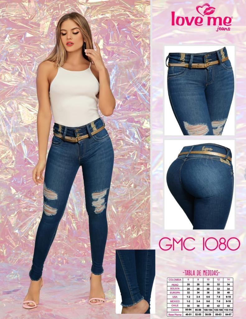 Pantalon Jean Love Me Gmc1080 Mariela Fashion Week