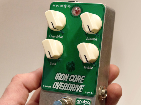Iron Core Overdrive - Pedal de Distorção
