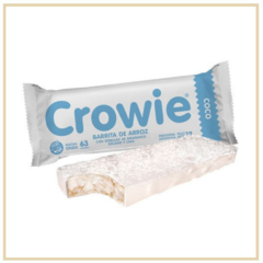 CROWIE: BARRITA DE ARROZ COCO
