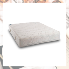 colchon topacio simetric duox con pillow 2 plazas
