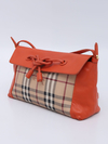 Bolsa Burberry Haymarket Check Orange Crossbody na internet