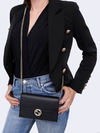 Bolsa Gucci Interlocking G Wallet On Chain Preta - comprar online