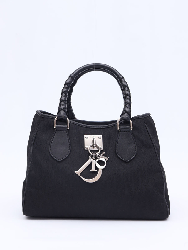 Bolsa Christian Dior Diorissimo Canvas Small Tote