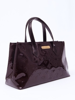 Bolsa Louis Vuitton Monogram Vernis Wilshire PM na internet