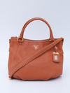 Bolsa Prada Vitello Daino Top Handle Rame BR4420