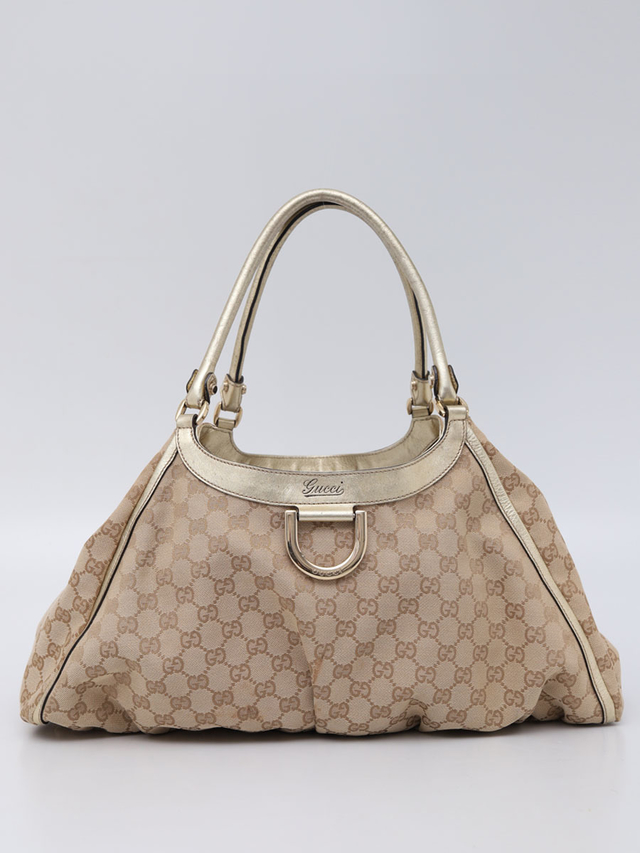 Bolsa Gucci D Ring Large Hobo