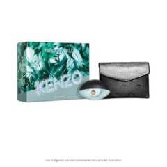 KENZO WORLD Eau de parfurm + Fashion pouch