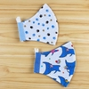 Kit de Máscara Infantil de 07 a 12 anos - Blue Cats