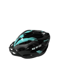 CAPACETE MTB GTS C/ VISTA LIGTH [OUTMOULD] - AZUL TIFFANY