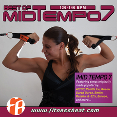 Best Of Mid Tempo 7 136-146 bpm - comprar online