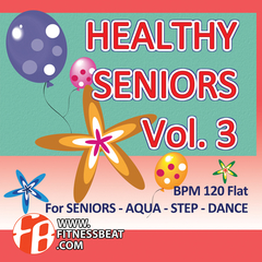 Healthy Seniors Vol 3 120-130 bpm - comprar online