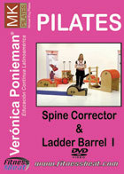 Pilates Ladder Barrel and Spine Corrector 1 DVD