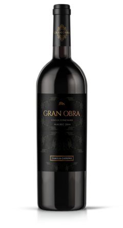 Gran Obra Malbec Single Vineyard x 3 Botellas