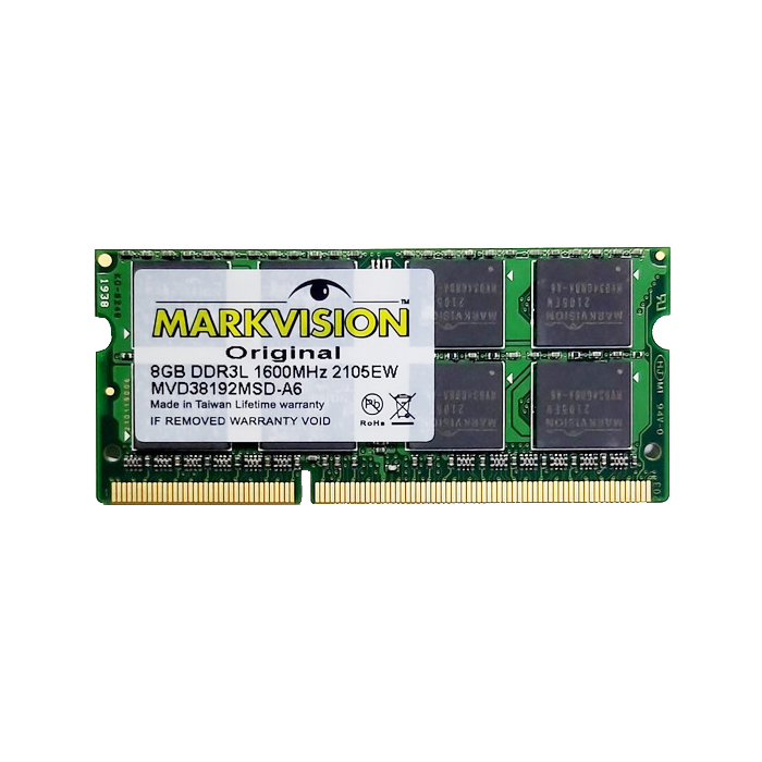 Memoria Crucial 8gb Ddr3l Sodimm Notebook 1600
