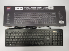 Teclado com led TC-1 NSBAO