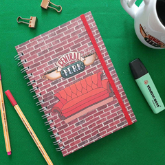 Caderno A5 Friends - Central Perk