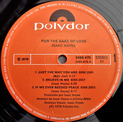 Isaac Hayes ‎– For The Sake Of Love - Promo Only Djs