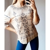 Sweater 14 -Manga 3/4 bordado-