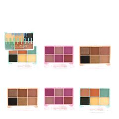 KIT 6 UND - Paleta de Sombras New Tropical - Pink 21