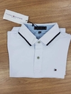 Camisa Polo Tommy - Branca