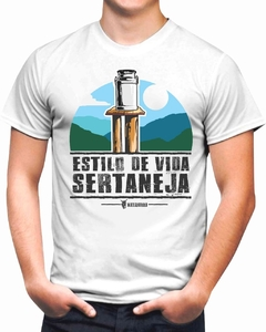 Camiseta Estilo de Vida Sertaneja Arco Colorida na internet