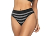 Calcinha Comfort Fashion Striped Preto com Zinza