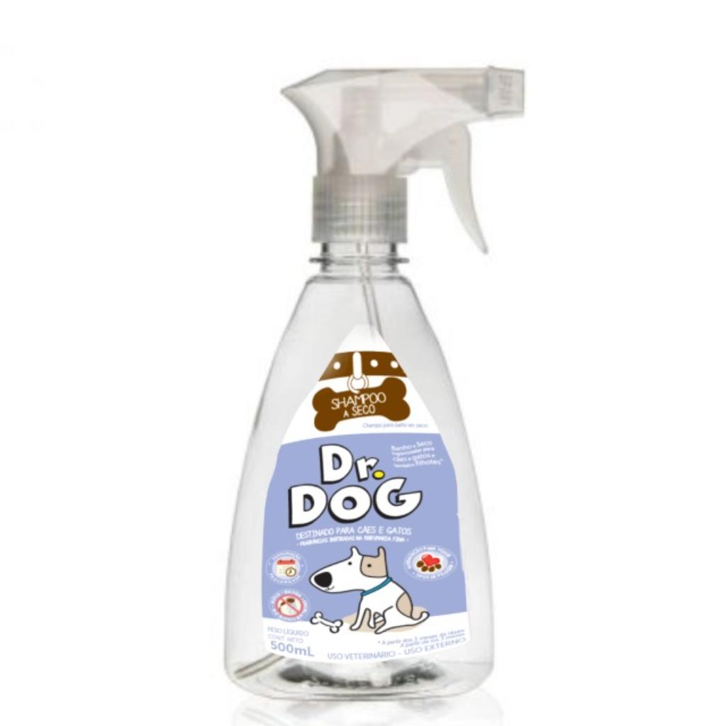 Dr Dog Shampoo Para Banho A Seco Cães...