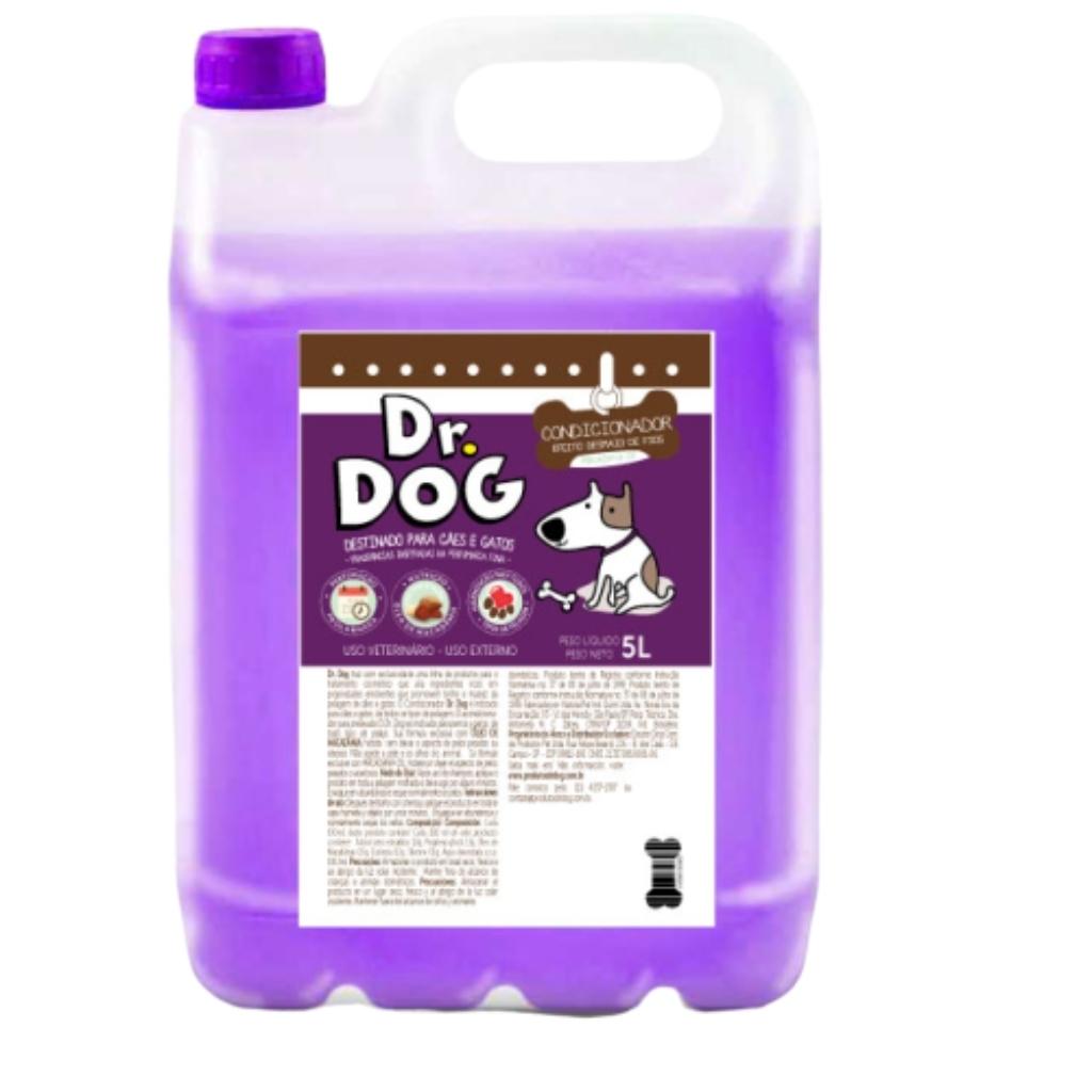 Dr Dog Condicionador Cães E Gatos Desm...