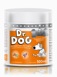 Kit Shampoo Clareador Dr Dog 5L e máscara desmaio 500ml na internet