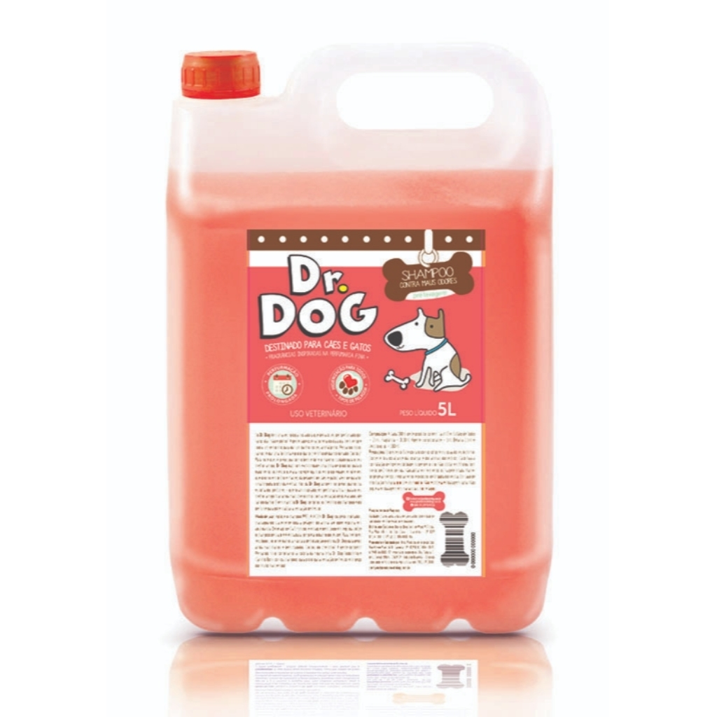 Dr Dog Shampoo Pré Lavagem Cachorro E...