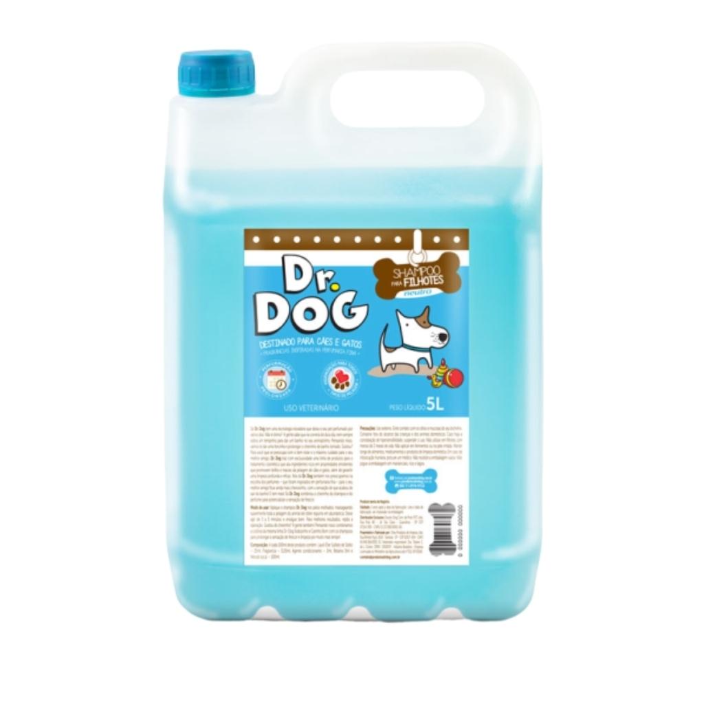 Shampoo Cachorro E Gato Neutro Filhote...
