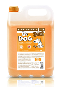 Kit Shampoo Clareador Dr Dog 5L e máscara desmaio 500ml - comprar online
